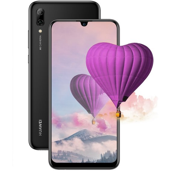 Смартфон Huawei P smart 2019 3/64GB Black (UA UCRF)