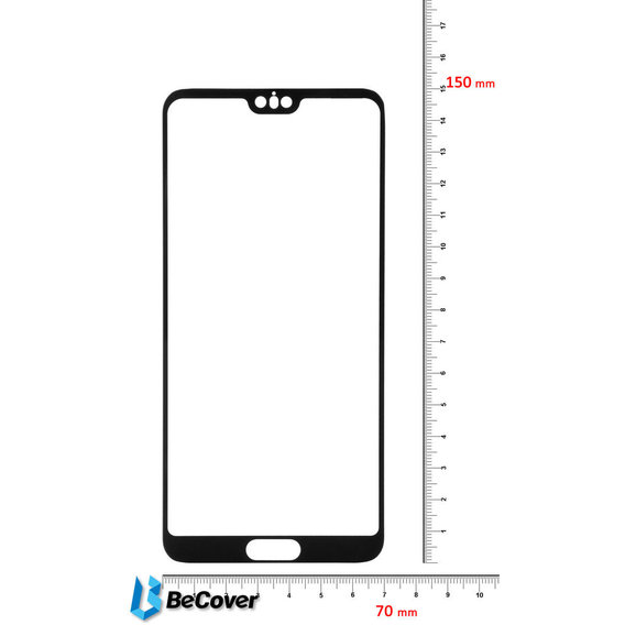 Аксессуар для смартфона BeCover Tempered Glass Black for Huawei P20 Pro (702170)
