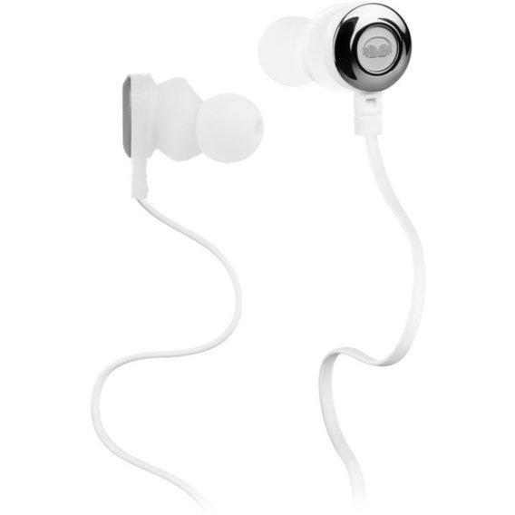 Наушники Monster Clarity HD High Definition In-Ear, White (MNS-128666-00)
