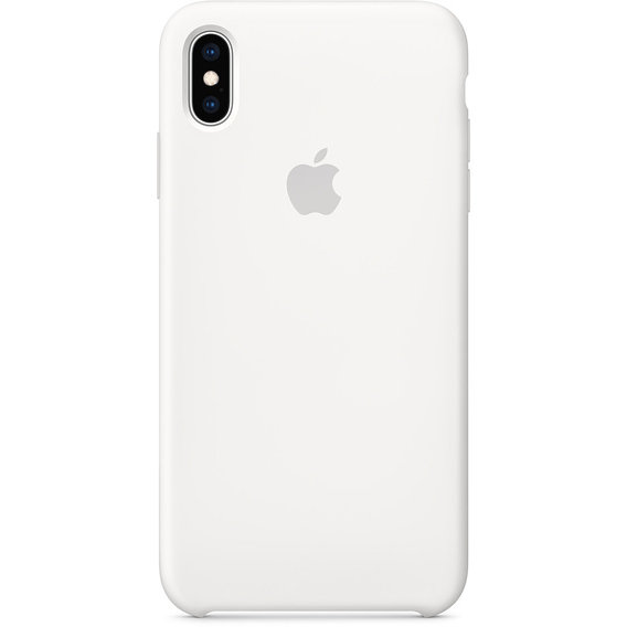 Аксессуар для iPhone Apple Silicone Case White (MRWF2) for iPhone Xs Max