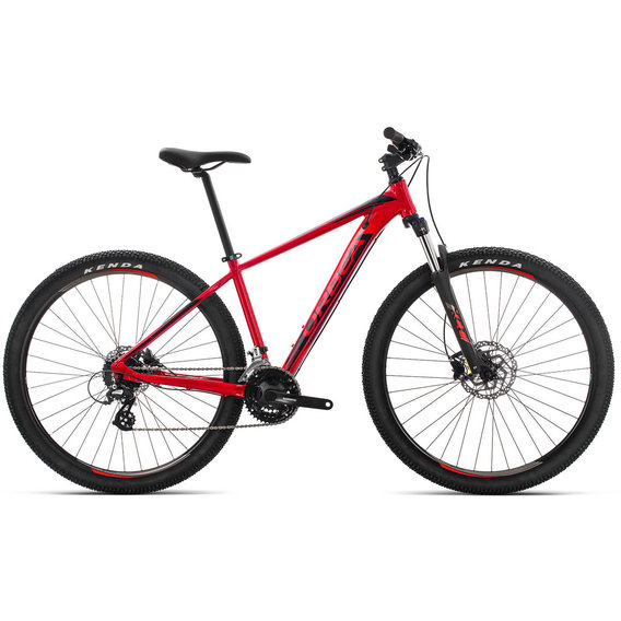Велосипед Orbea MX 27 50 19 M Red - Black (J20117R5)