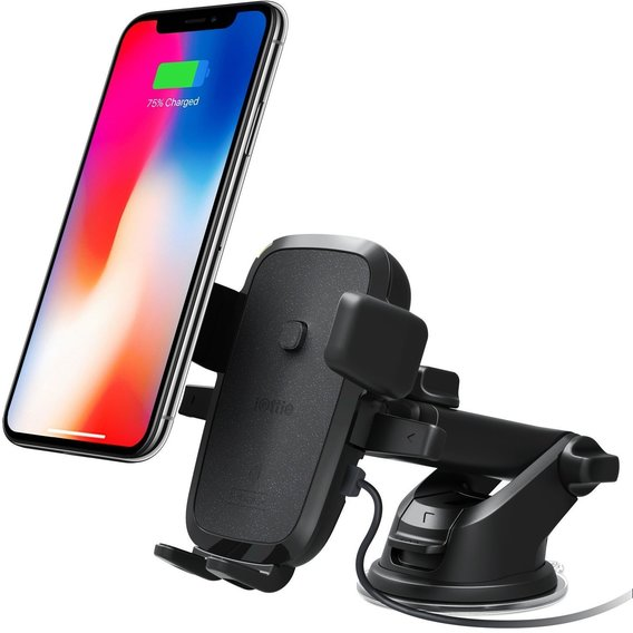 Держатель и док-станция iOttie Car and Desk Holder Qi Wireless Fast Charging Mount Easy One Touch 4 (HLCRIO134)