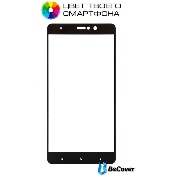 Аксессуар для смартфона BeCover Tempered Glass Black for Xiaomi Mi5S Plus