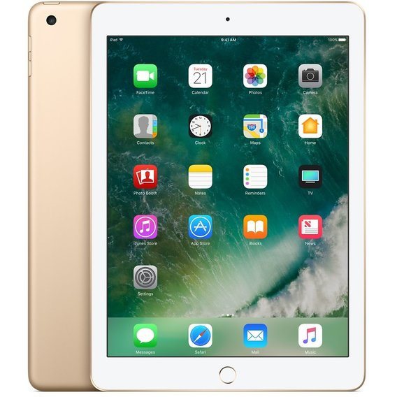 Планшет Apple iPad Wi-Fi 32GB Gold (MPGT2) 2017