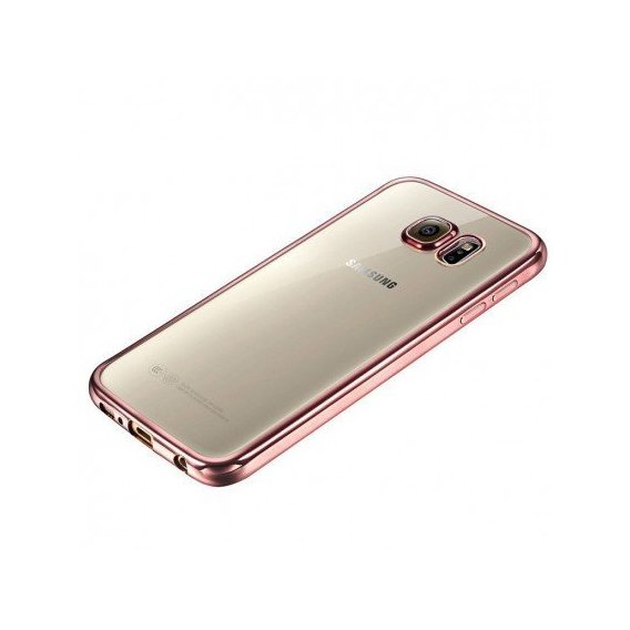 Аксессуар для смартфона TPU Case with Glossy Bumper Rose Gold for Samsung A320 Galaxy A3 2017