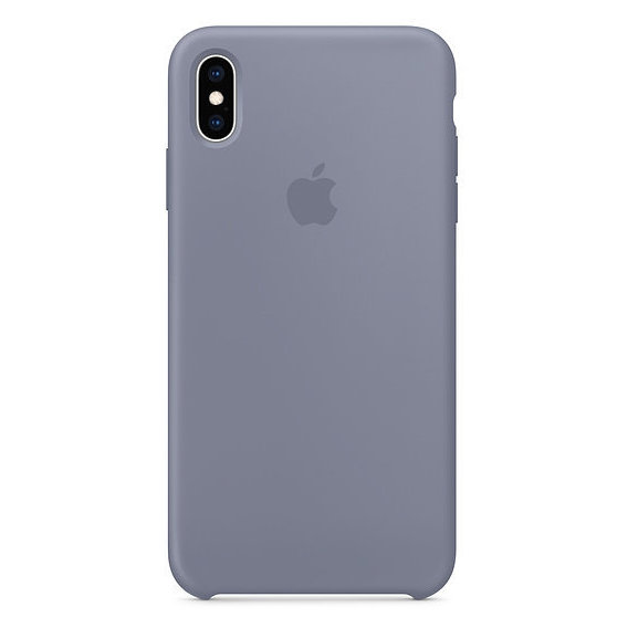 Аксессуар для iPhone Apple Silicone Case Lavender Gray (MTFH2) for iPhone Xs Max