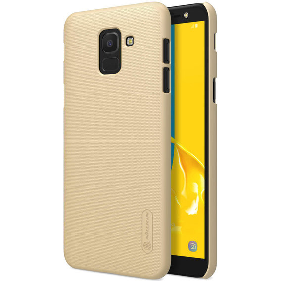 Аксессуар для смартфона Nillkin Super Frosted Golden for Samsung J600 Galaxy J6