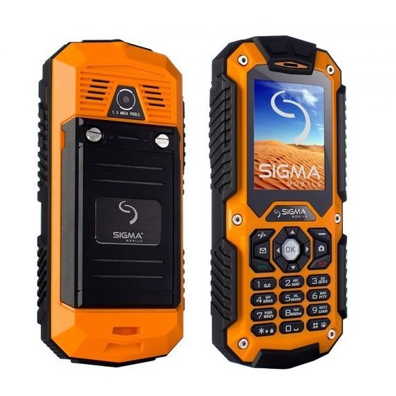 Мобильный телефон Sigma mobile X-treame IT67 Dual Sim Orange (UA UACRF)