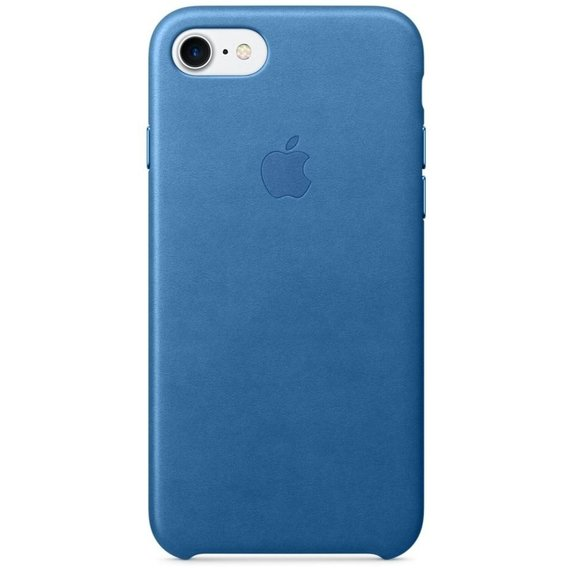 Аксессуар для iPhone Apple Leather Case Sea Blue (MMY42) for iPhone 8/iPhone 7