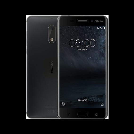 72590dd64d5d2 Смартфон Nokia 6 32GB Dual Sim Matte Black (UA UCRF). Нет в наличии