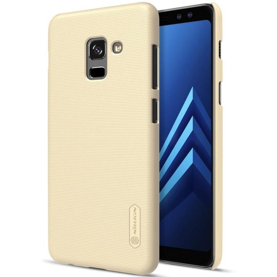 Аксессуар для смартфона Nillkin Super Frosted Golden for Samsung A730 Galaxy A8 Plus 2018