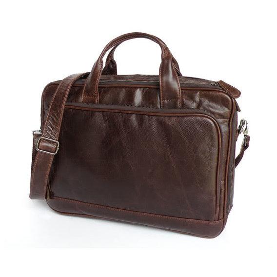 ad23d261769a Jasper   Maine Leather Bag Brown (7005Q) for MacBook 15. Купить ...