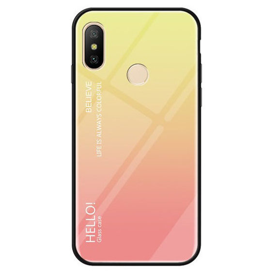 Аксессуар для смартфона Mobile Case Gradient Hello Pink for Xiaomi Redmi 6 Pro / Mi A2 Lite