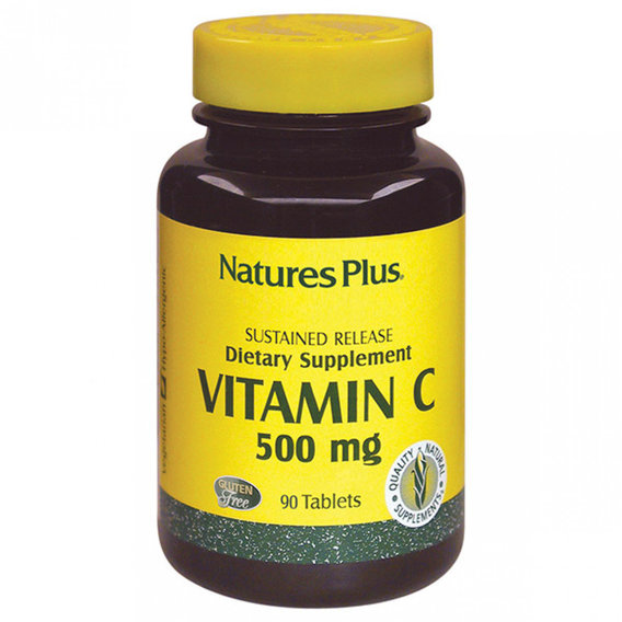 Natures Plus Vitamin С 500 mg 90 tabs