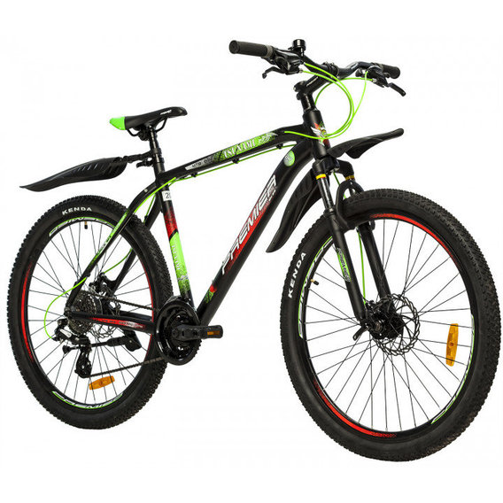 "Велосипед Premier Tsunami 27 Disc 20"" Black-Green-Red (SP0004692)"