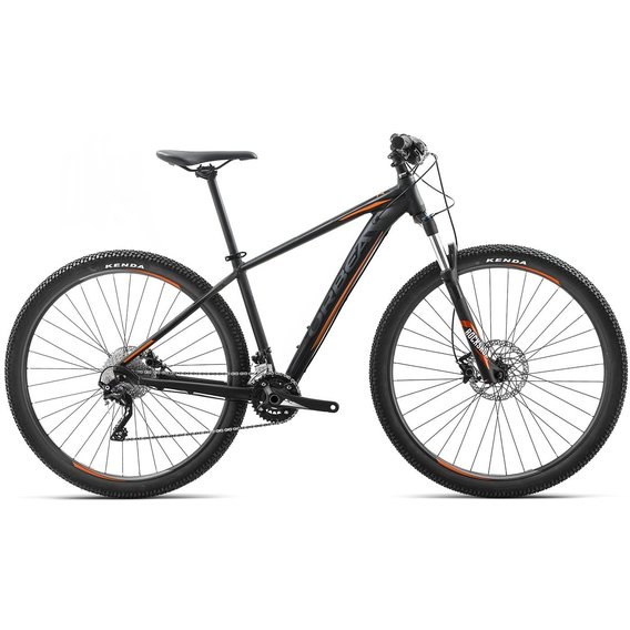 Велосипед Orbea MX 29 10 18 XL Black-Orange (I21021R1)