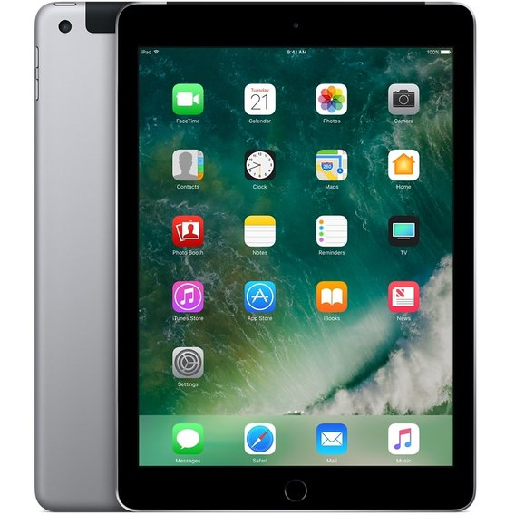 Планшет Apple iPad Wi-Fi + LTE 32GB Space Gray (MP242) 2017