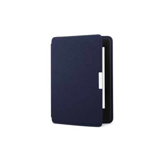 Аксессуар к электронной книге Amazon Leather Cover Ink Blue for Kindle Paperwhite