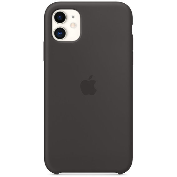 Аксессуар для iPhone Apple Silicone Case Black (MWVU2) for iPhone 11