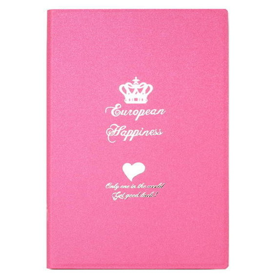 Аксессуар для iPad iBacks Ultra-slim Leather Case Crown Pink for iPad mini Retina 2/3