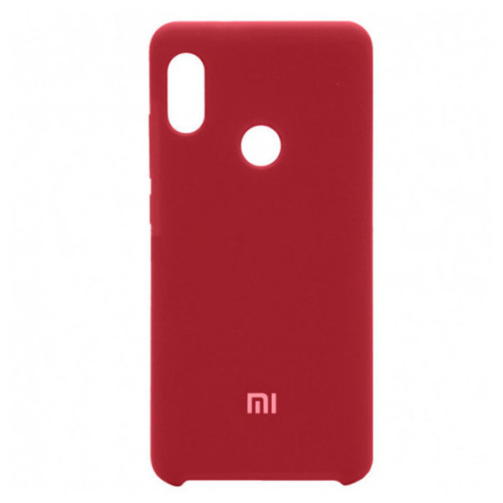 Аксессуар для смартфона Mobile Case Silicone Cover Burgundy Light for Xiaomi Redmi Note 5 Pro / Note 5