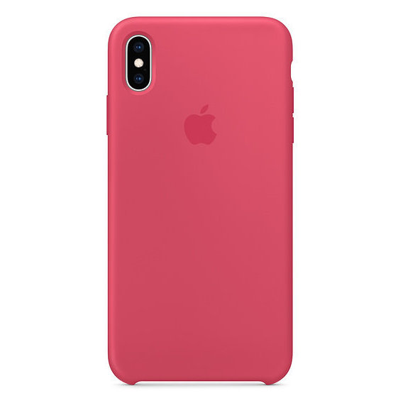 Аксессуар для iPhone Apple Silicone Case Hibiscus (MUJP2) for iPhone Xs Max