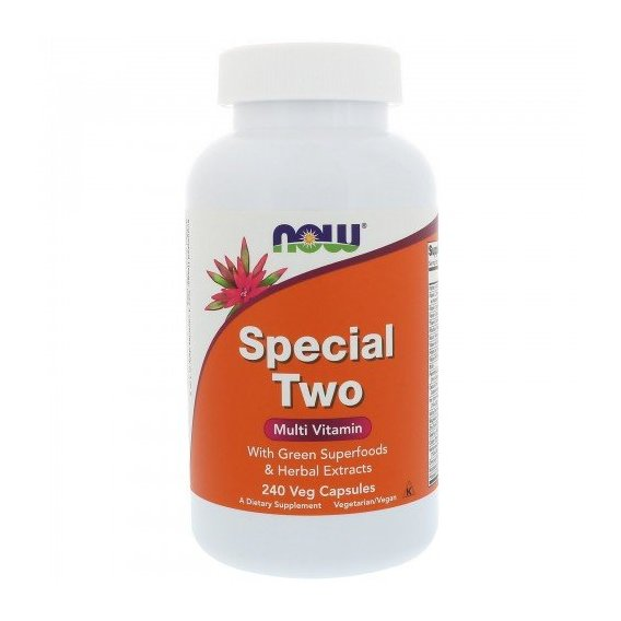 NOW Foods SPECIAL TWO MULTI 240 VCAPS Мультивитамины