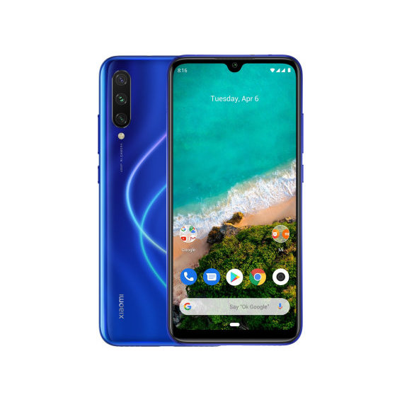 Смартфон Xiaomi Mi A3 4/128GB Blue (Global)